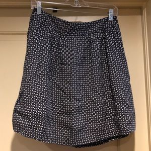 Fully Lined Flounce Skirt with Pockets
